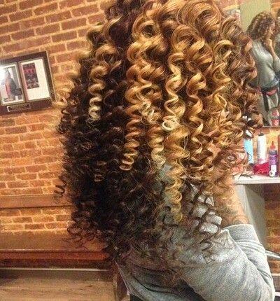 Curling wand curls