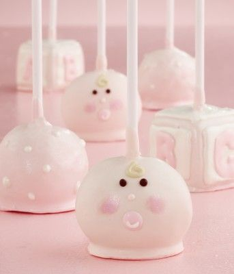 omg cake pops are adorable too! look at these little guys! yummy!