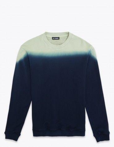 Dip Dye Sweater Navy Raf Simons 195 Euro