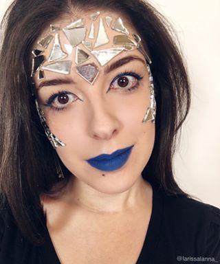Maquiagem Carnaval.