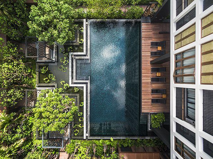 Arquitetura de paisagem de Hasu Haus por Shma Design -
