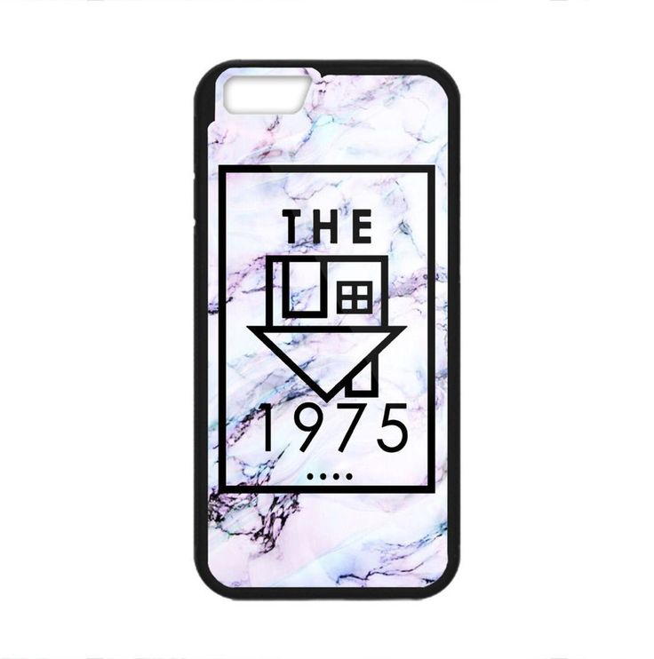 The 1975 Logo Custom White Marble Hard Plastic Cover Case For iPhone 6 6s 7 plus #UnbrandedGeneric #Cheap #New #Best #Seller #Design #Custom #Case #iPhone #Gift #Birthday #Anniversary #Friend #Graduation #Family
