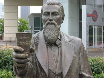 Confederate Army Colonel John Pemberton was wounded in the Battle of Columbus, Georgia in April 1865. He became addicted to morphine during his recovery. He invented Coca-Cola while trying to create something that would counteract his morphine addiction.