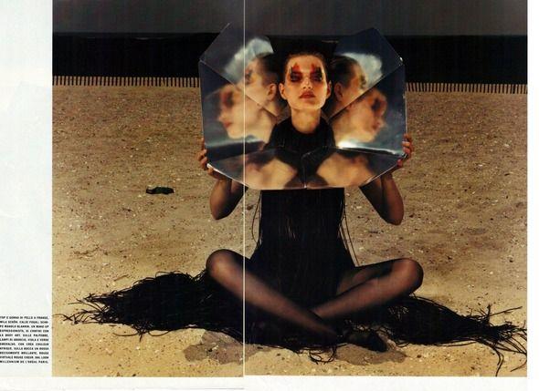 1999 год, Жиневье ван Синус в объективе Марио Сорренти
