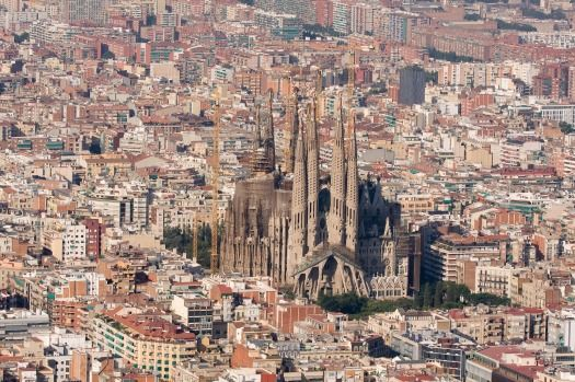 La Sagrada Familia: St Peter's Basilica and Notre Dame might hog most of the…