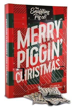 The Snaffling Pig's pork scratchings advent calendar