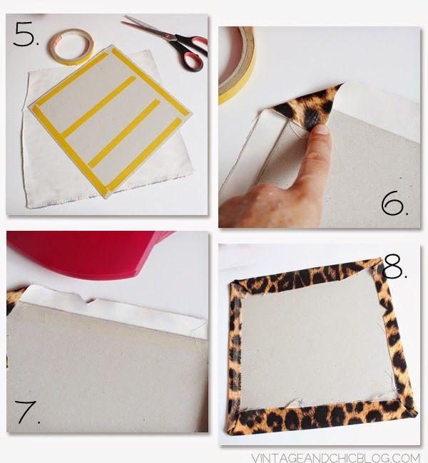 Cómo forrar cajones con tela · Drawers lined with fabric