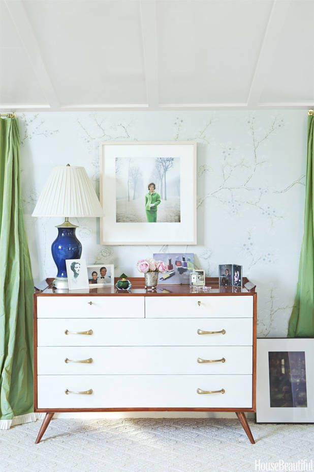 17 Beautiful Blue-and-White Rooms  - HouseBeautiful.com