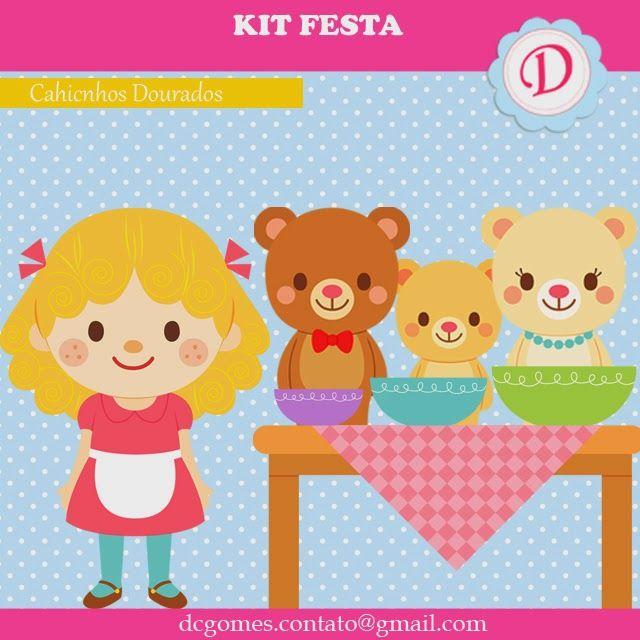 Espaço D... Personalizados: Kit Festa Pronta