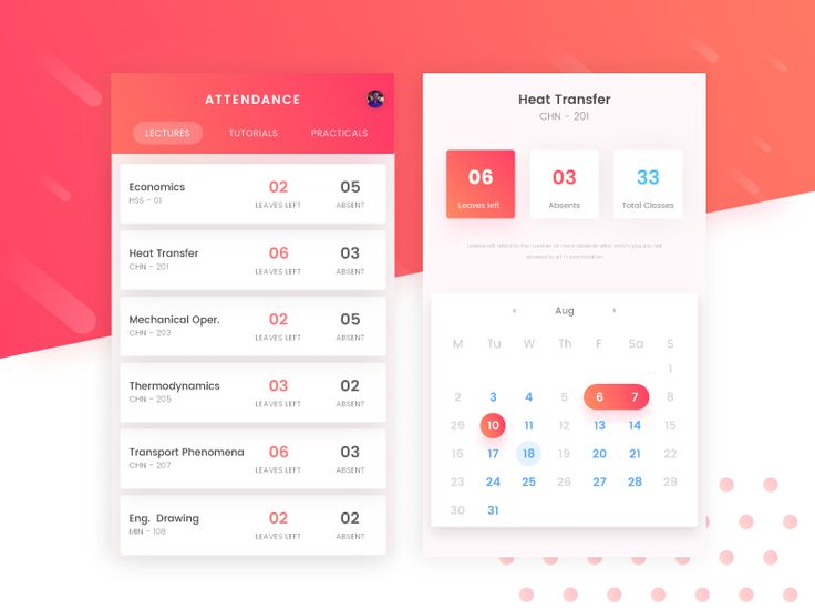 Attendance App | For Students by Kunal Satpal