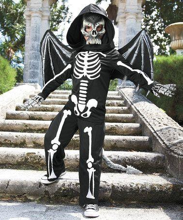 Look at this #zulilyfind! Flying Skeleton Dress-Up Set - Kids #zulilyfinds