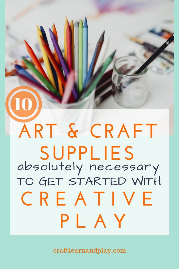 10 Kids Art And Craft Supplies Absolutely Necessary To Get You