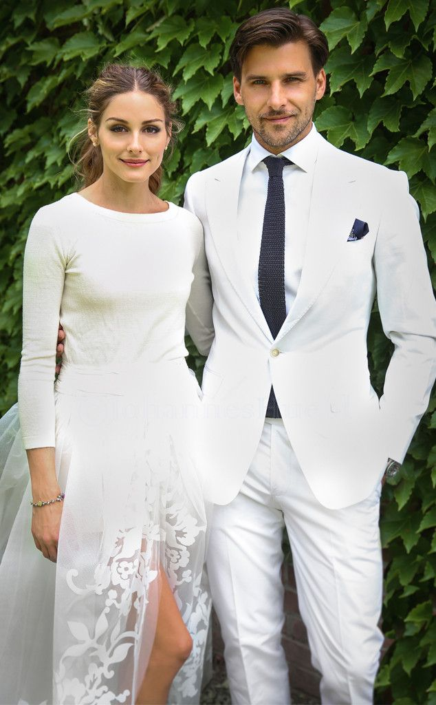 Olivia Palermo and Johannes Huebl stun on their wedding day! (Click for details on her unique look.)