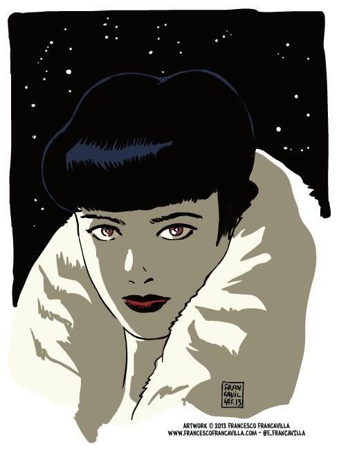 Rachel - Blade Runner - Francesco Francavilla