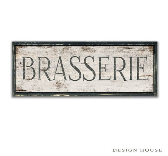 Brasserie ondertekent Brasserie houten keuken door DesignHouseDecor