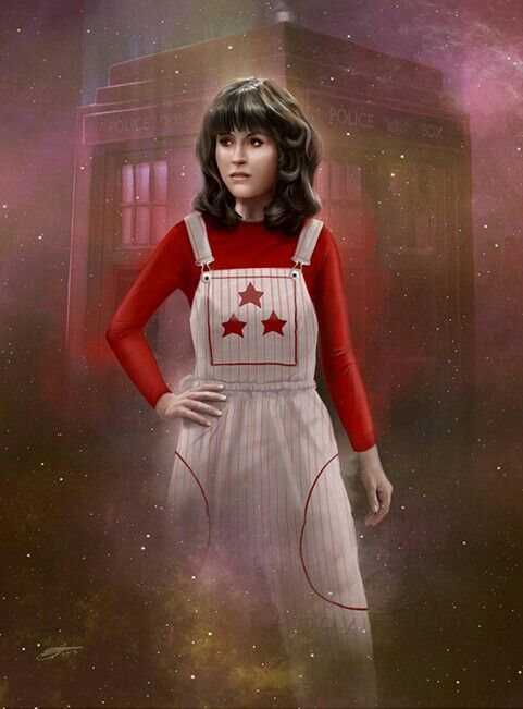 DOCTOR WHO COMPANIONS - SARAH-JANE SMITH
