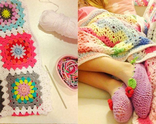 cute slippers Haken en meer