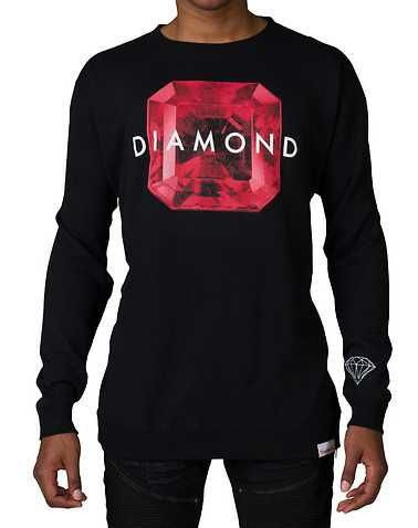 #FashionVault #diamond supply company #Men #Tops - Check this : DIAMOND SUPPLY COMPANYENS Black Clothing / Sweatshirts for $49.99 USD