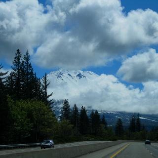 Mt.Shasta in California