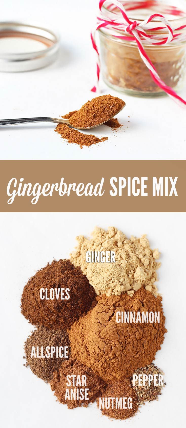Make your own Gingerbread Spice Mix at home to use all throughout the holiday season to give baked goods a cozy, aromatic spice flavor.