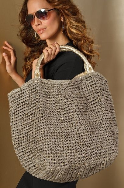 straw tote   beach tote   BAGS-The Finishing Touch