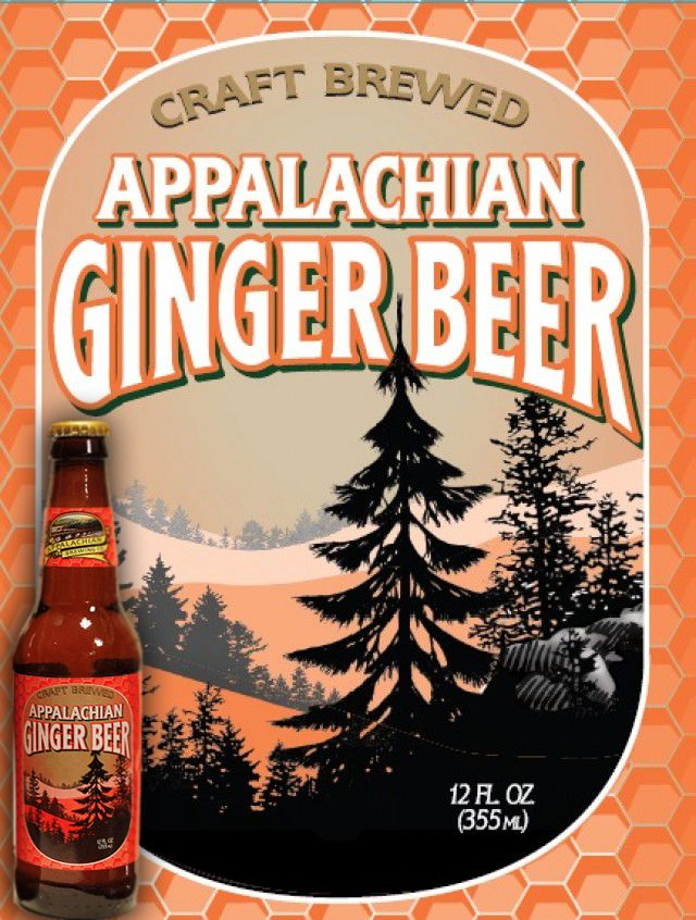 Appalachian Brewing Co. Available in Draft & Bottles – 24/12oz per case Our Jamaican style Ginger Beer is brewed with pure Appalachian water, cane sugar and fresh ginger extract. It has an unrivaled spicy tart complexity with a nice ginger bite. Appalachian Ginger Beer is a caffeine and gluten-free craft soda. This traditional island drink is great on a hot summer day! #GingerBeer #CraftSoda