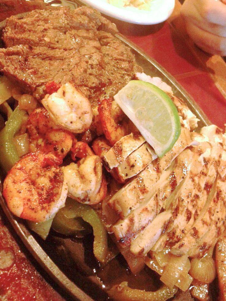 Fajita Trio (Beef, Chicken, Shrimp)