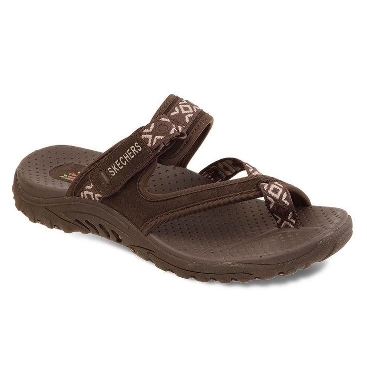 Skechers Reggae Trailway Women's Sport Thong Sandals, Size: 8, Other Clrs