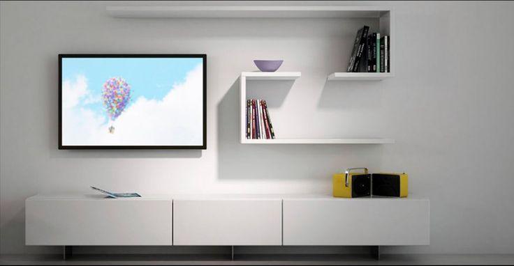 Décoration salon: bien intégrer un écran TV - Marie Claire Maison