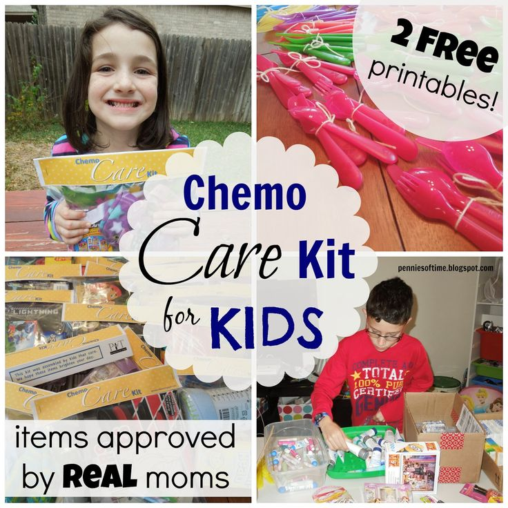 Pennies of Time: Chemo Care Kit for Kids: Service Project for Kids and Families