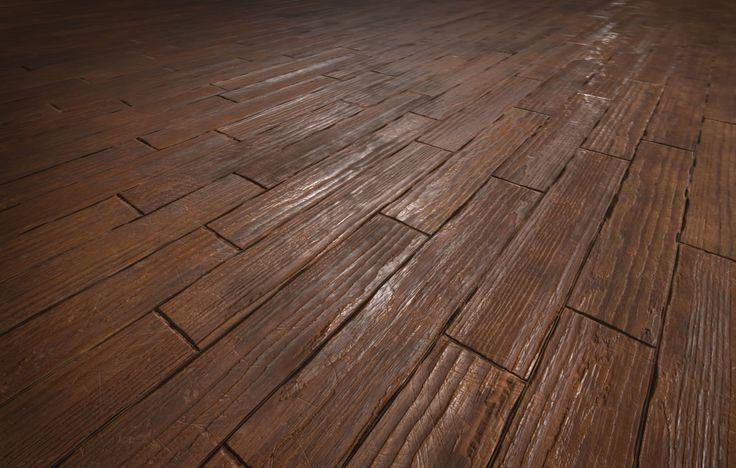ArtStation - Procedural Damaged Wood Flooring, Matthew Stankevicius