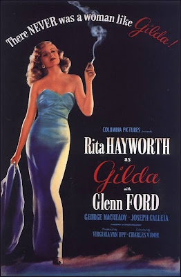 GildaMovie Posters, Classic Movie, Rita Hayworth, Film Posters, Film Noir, Favorite Movie, Gilda1946, Gilda 1946, Ritahayworth