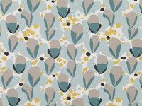 Alva Quince - Makela - Contemporary Print : Upholstery Fabrics, Prints, Drapes & Wallcoverings Romo Fabric