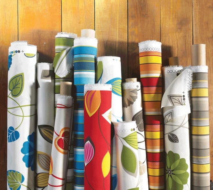 Patio Collection outdoor fabrics // Tissus pour l'extérieur Collection Patio