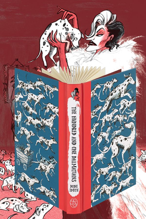 Stunning collector's edition of children's classic The Hundred and One Dalmatians by Dodie Smith from The Folio Society. Hardback with a decorative slipcase, this edition is introduced by Jacqueline Wilson and features lavish illustrations by Sara Ogilvie.