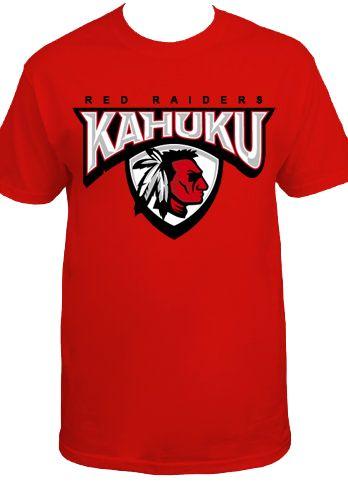 Kahuku Red Raiders RR1-95 shirt