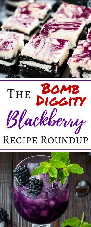 These blackberry recipes look so delicious my mouth is watering! This amazing roundup has blackberry jam, jelly, dessert, cobbler, muffins, drink, popsicles, gluten free recipes and more! These 25 recipes with blackberries are great for dessert, healthy eating, breakfast, dinner, or snacks.