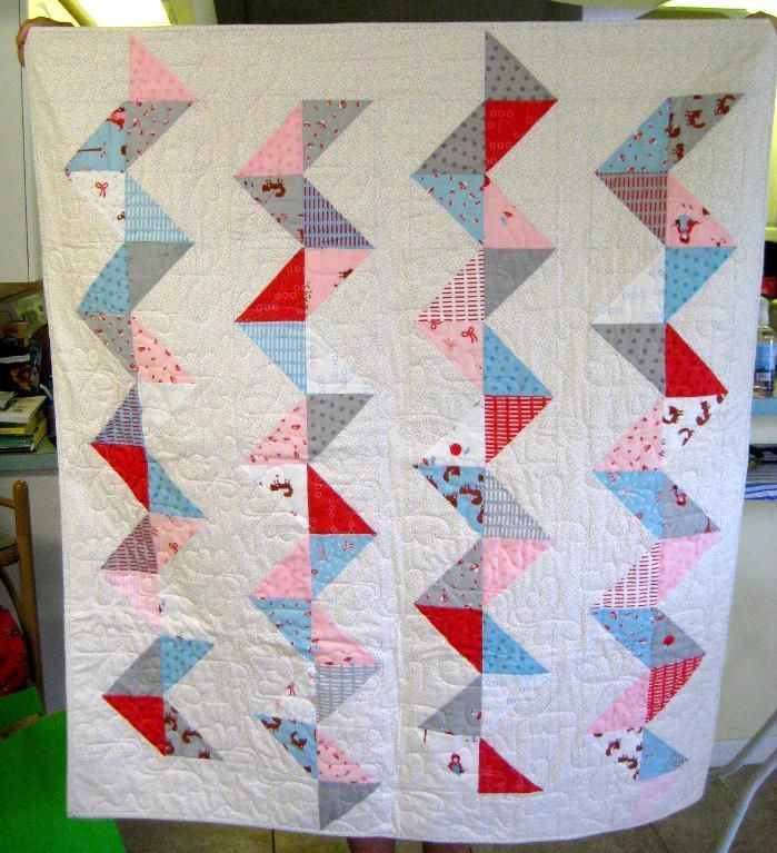 Baby quilt for Grace: Baby Quilts
