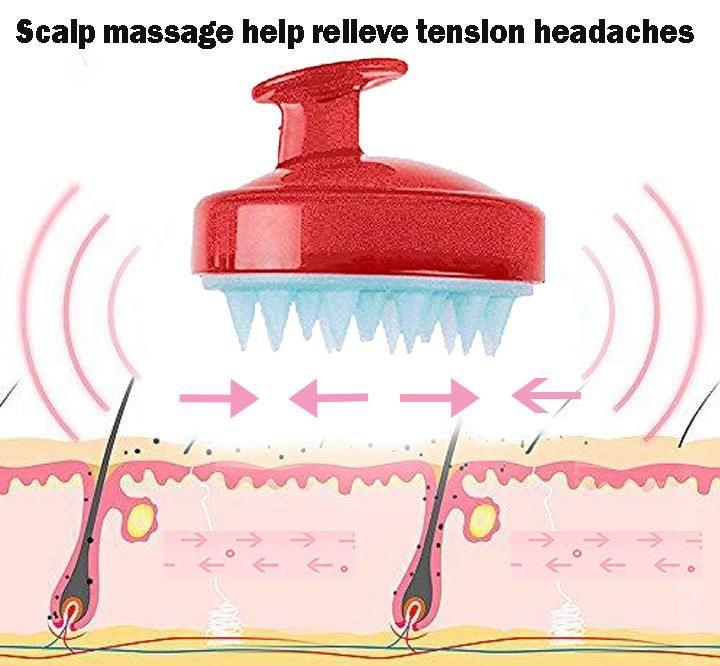 Hair Scalp Massager Brush Scalp Brushing Scalp Massage Hair Massage