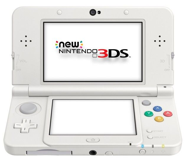 New Nintendo 3 DS White - Edited ...