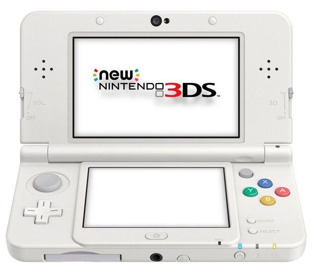 New Nintendo 3 DS White