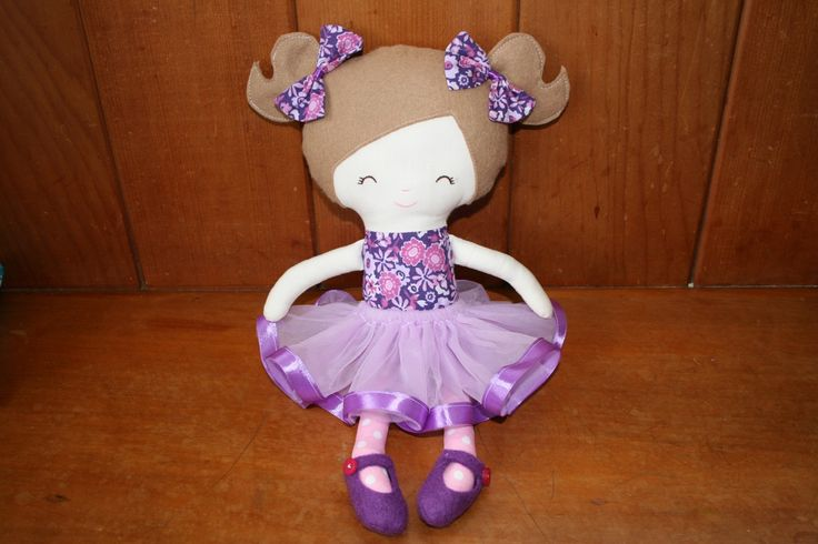 Little sister doll handcrafted with love in NZ. You'll fall in love with this ZEALOUS DESIGN fabric doll. Made in New Zealand, sold on the FELT store