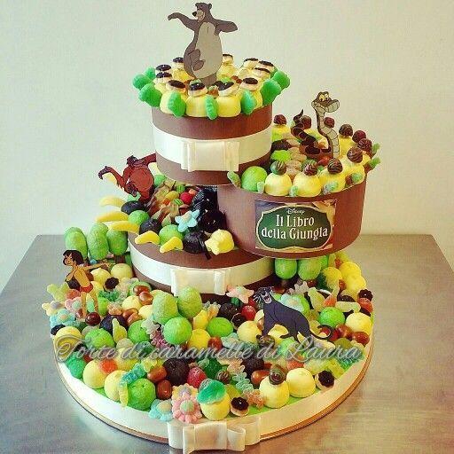 Deliciosa tarta para fiesta de cumpleaños infantil. #torta #cumpleaños