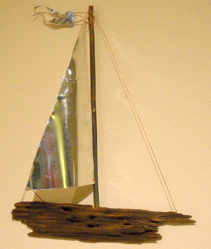 94 best Driftwood Sailboat Wall Art images on Pinterest | Sailing ...