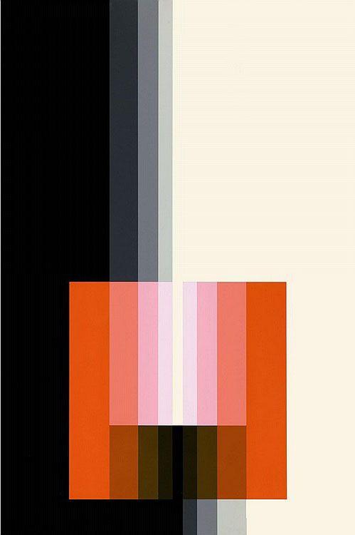 Karl Gerstner, Chromorphose 3.09, 1974. ©Karl Gerstner
