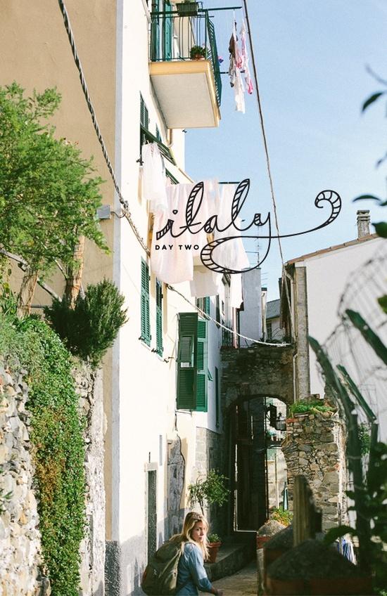 Le splendide Cinque Terre: Italy