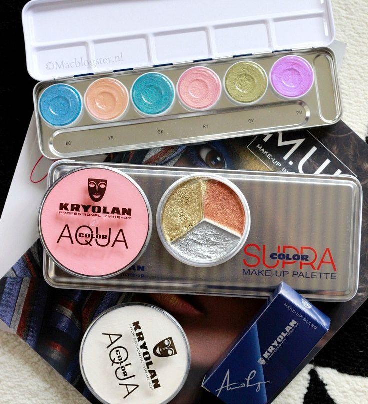 Kryolan Supra Color en Kryolan Aqua Color: Professionele Make-up Merken waar visagisten mee werken