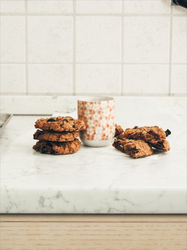 ORANGE OATMEAL RAISIN COOKIES