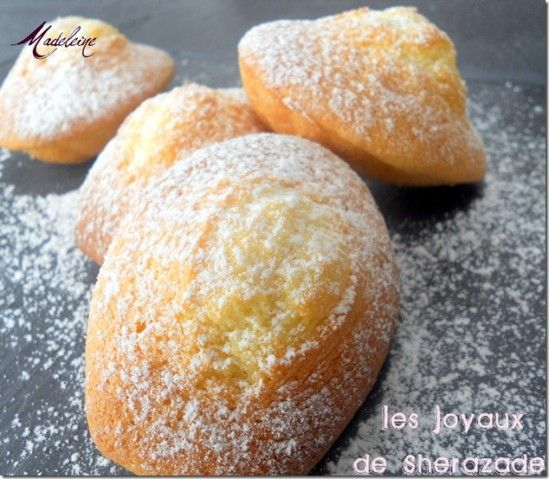 Merveilleuses Madeleines à l'ancienne #recette #madeleine #facile