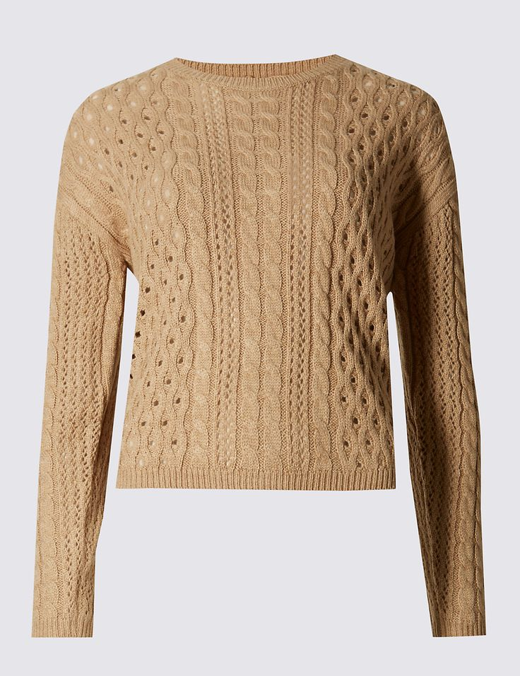 M&S COLLECTION New Button Back Oversized Long Sleeve Jumper http://www.sizestyler.co.uk/product/buy/ms-collection-button-back-oversized-long-sleeve-jumper-16021555